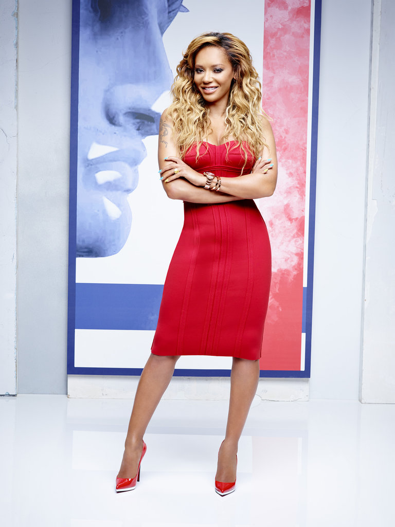 AMERICA'S GOT TALENT -- Season: 9 -- Pictured: Mel B -- (Photo by: Justin Stephens/NBC)