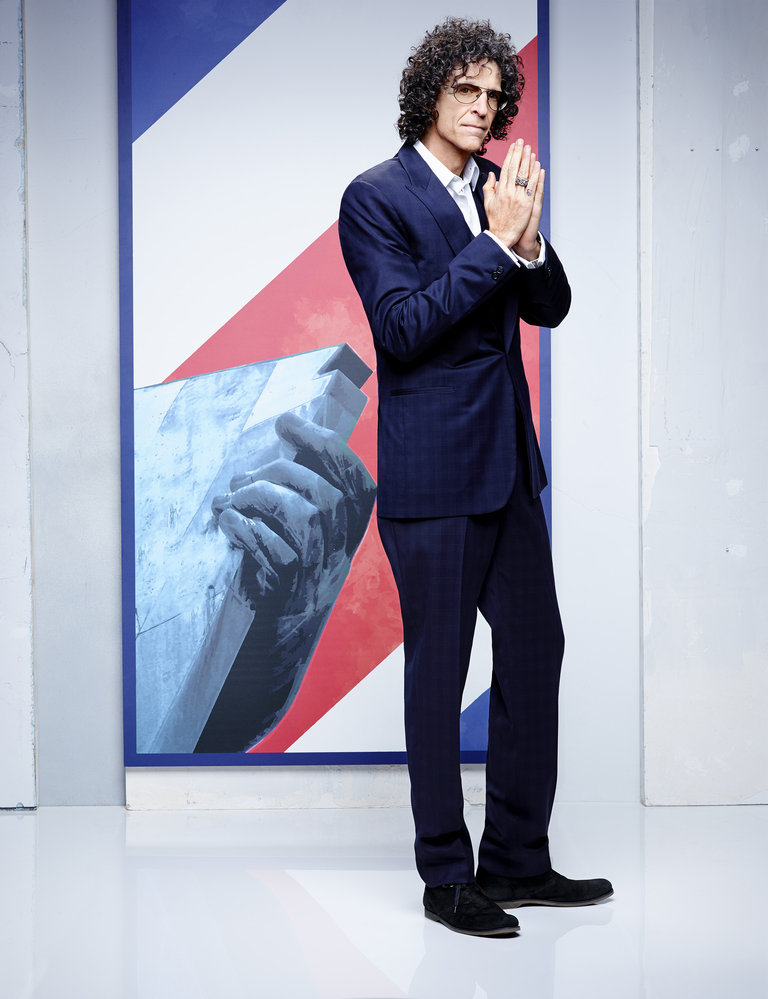 AMERICA'S GOT TALENT -- Season: 9 -- Pictured: Howard Stern -- (Photo by: Justin Stephens/NBC)