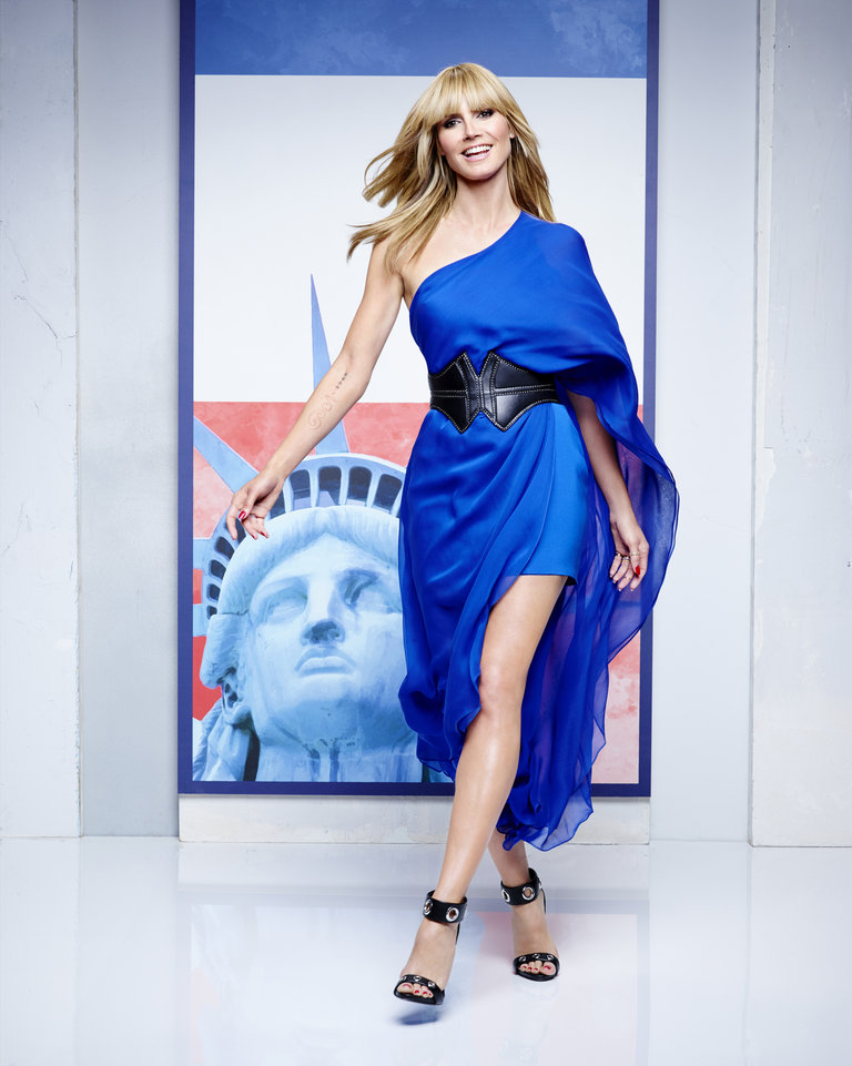 AMERICA'S GOT TALENT -- Season: 9 -- Pictured: Heidi Klum -- (Photo by: Justin Stephens/NBC)