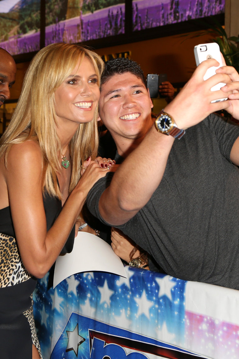 AMERICA'S GOT TALENT -- Los Angeles Red Carpet -- Pictured: Heidi Klum -- (Photo by: Chelsea LaurenNBC)