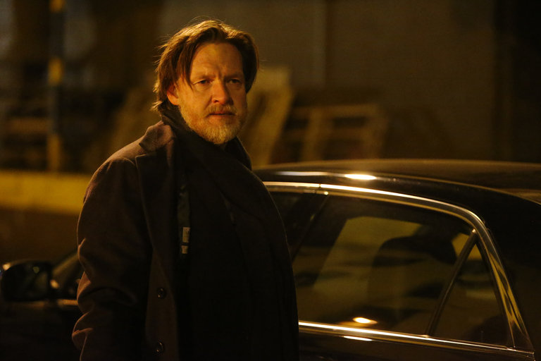 Donal Logue plays undercover officer Declan Murphy who poses as a thug for a gambling ring and loops in a desperate Rollins to help take down the financier.