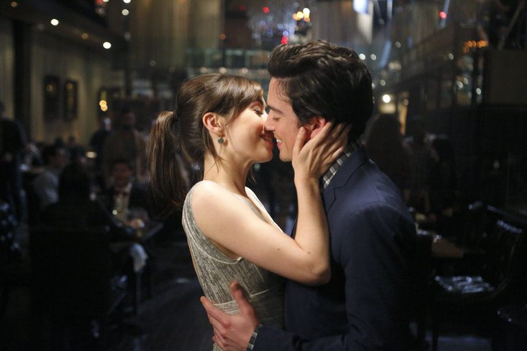 A Big Kiss for Andrew and Zelda