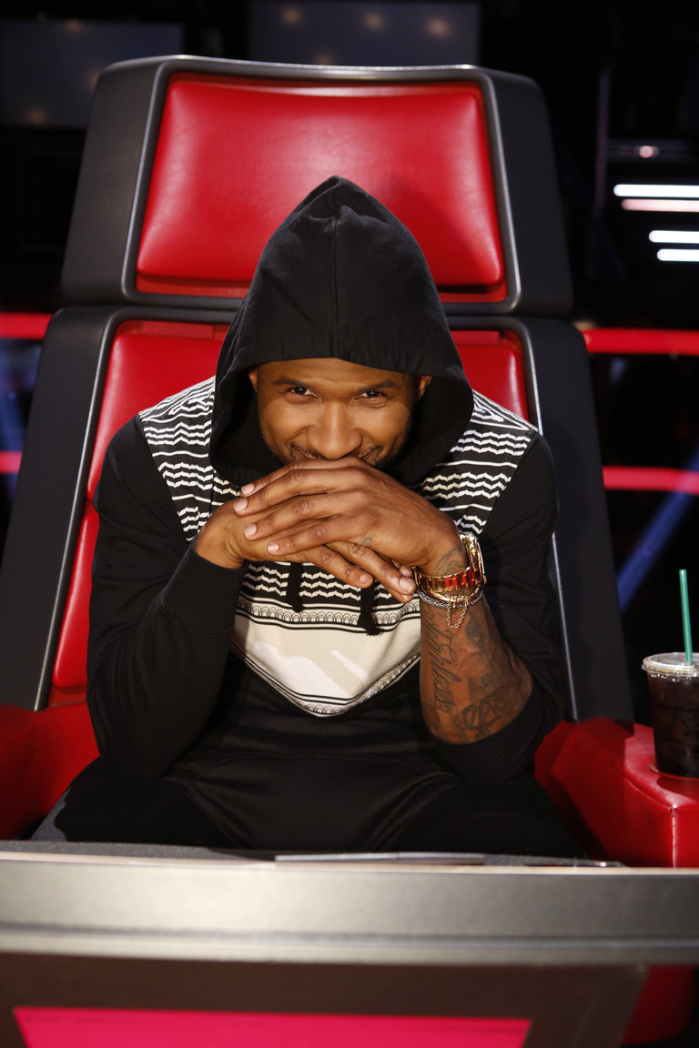 The Voice: Season 6 The Live Semi-Final Results Photo ... Usher Afro The Voice