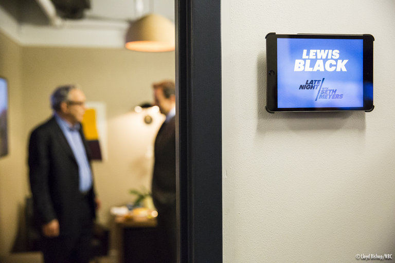 Lewis Black on Late Night with Seth Meyers