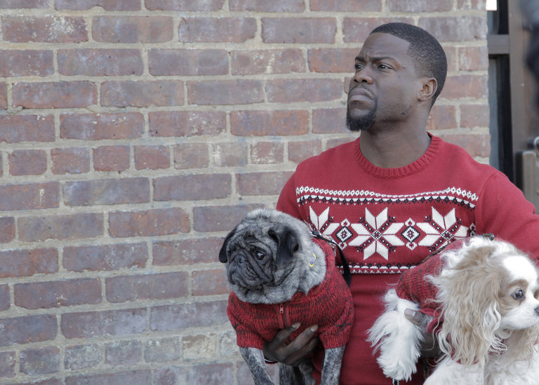 From the Set: Kevin Hart and Sia