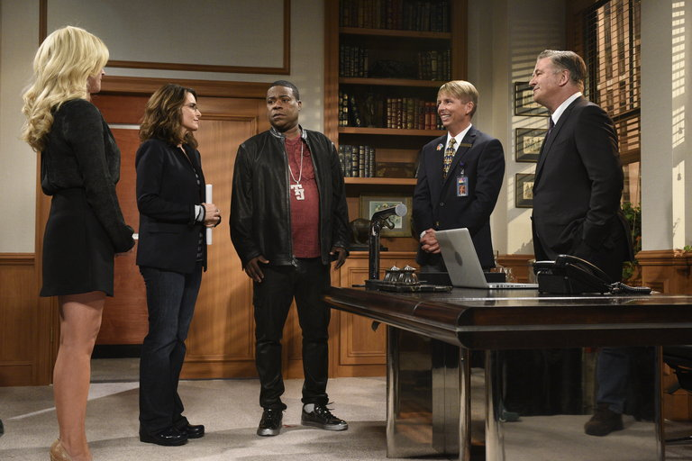 From the Set: Tracy Morgan and Demi Lovato