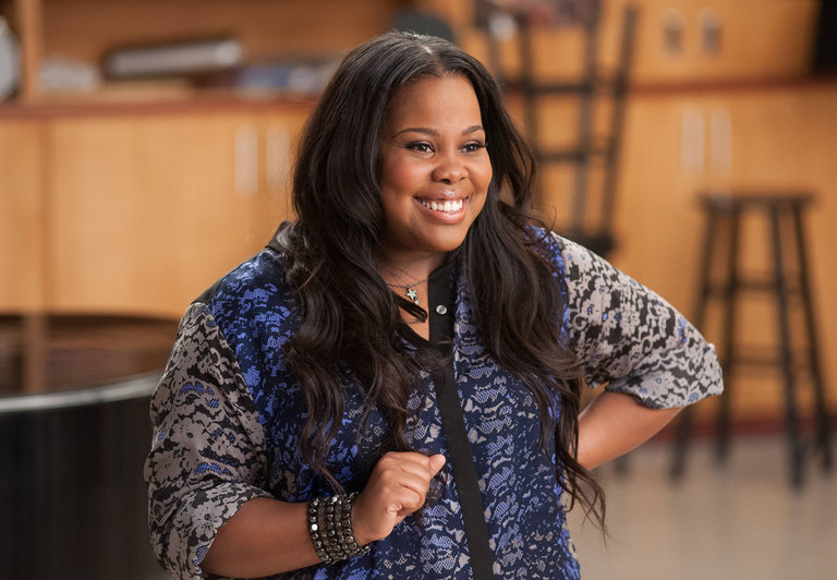 Amber Riley Is Addaperle
