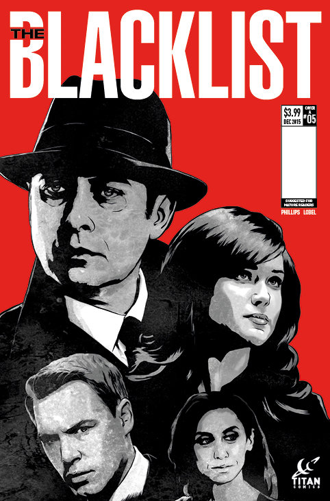 The Blacklist Issue #5 Cover