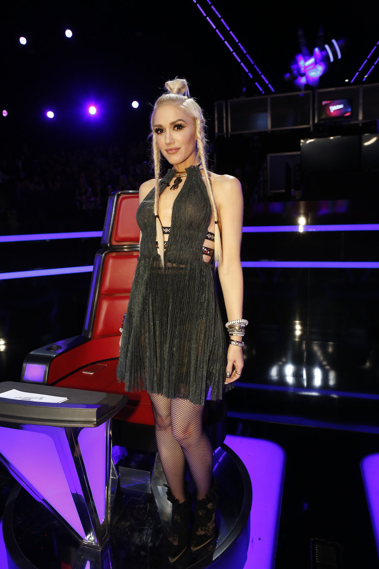 The Voice Within The Cards: The Voice: Backstage At The Live Semifinal Performances