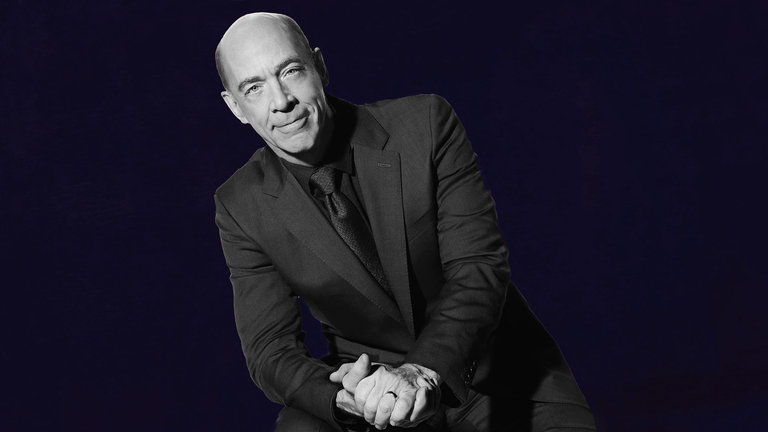 J.K. Simmons and D'Angelo Bumper Photos