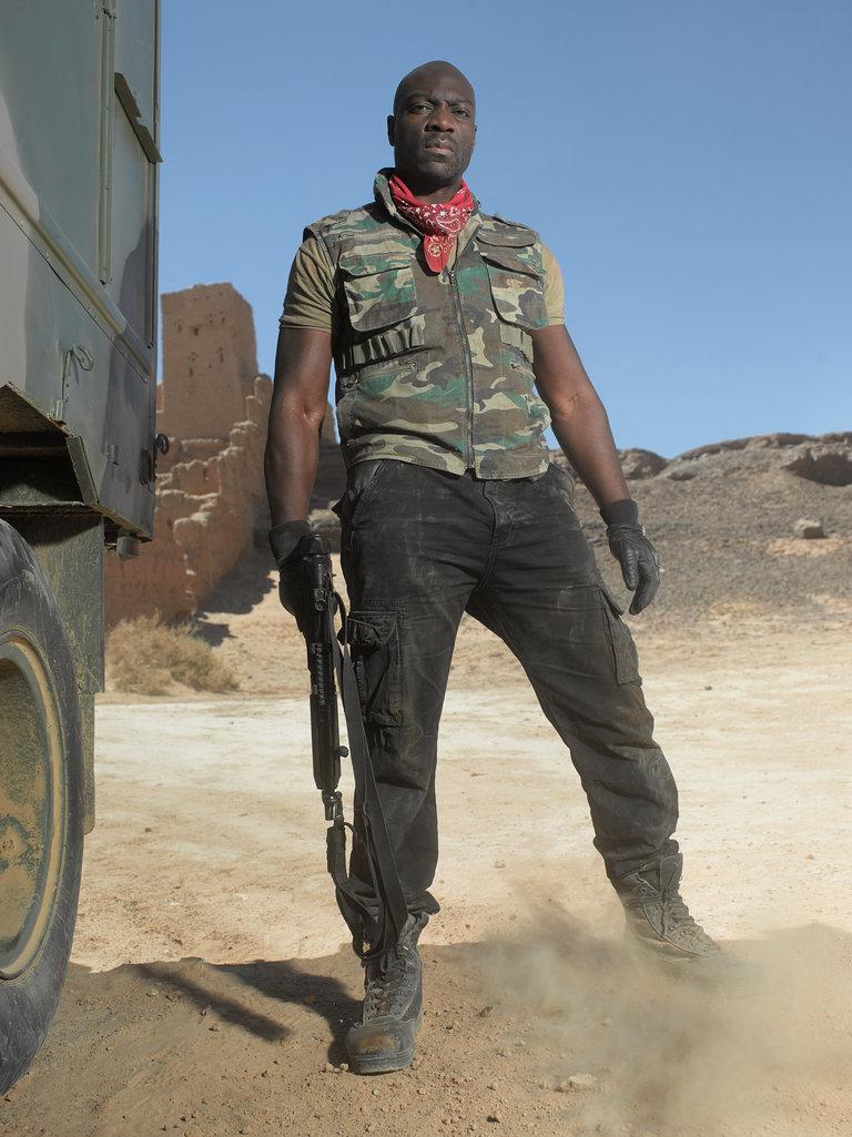 Adewale Akinnuoye-Agbaje Stars as Frank Majors
