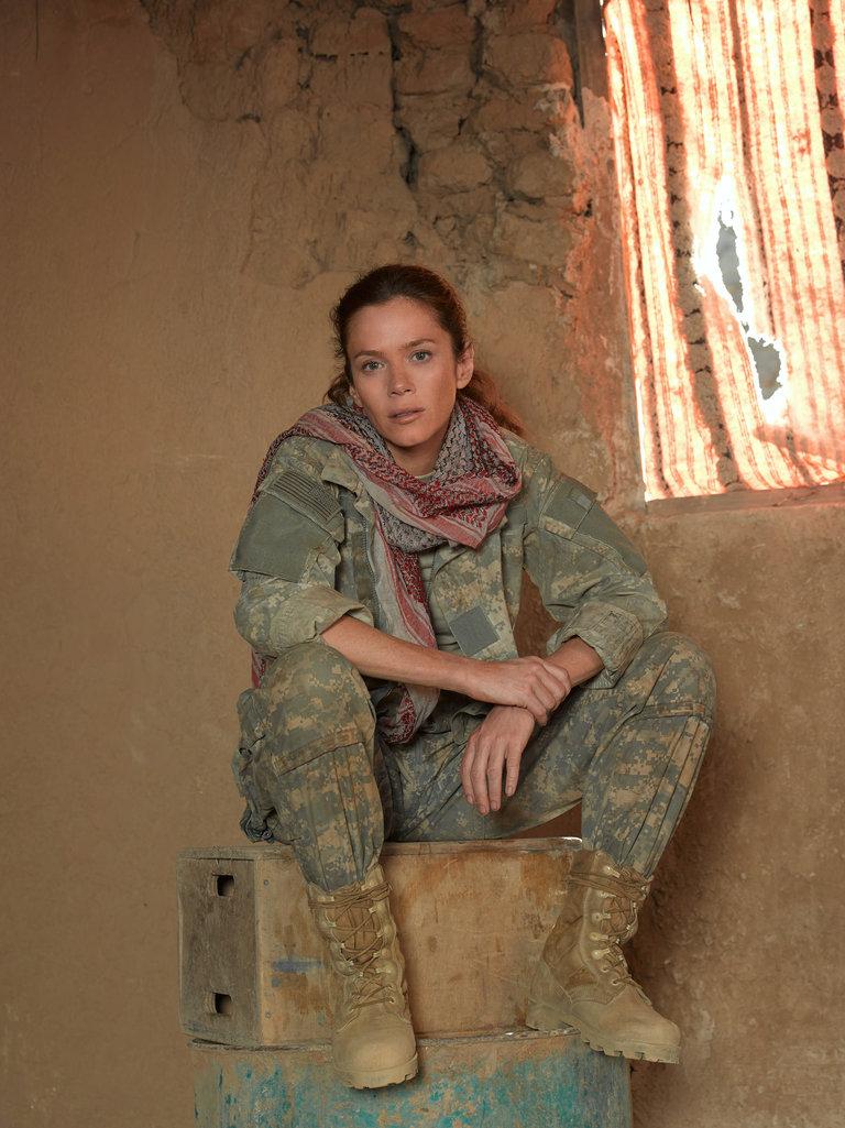 Anna Friel Stars as Sgt. Odelle Ballard