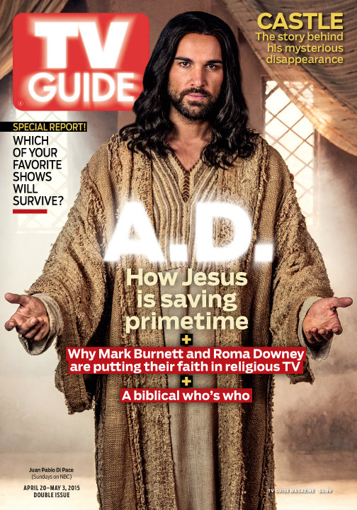 A.D. The Bible Continues: The TV Guide Magazine Cover