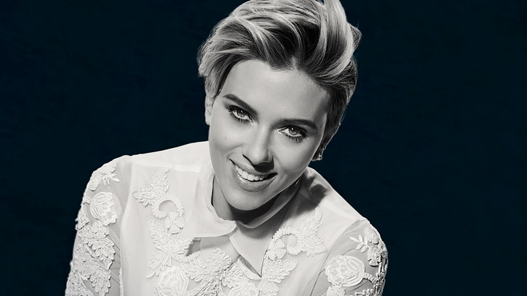 Scarlett Johansson and Wiz Khalifa Bumper Photos
