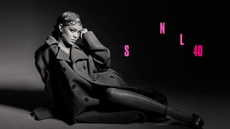 Louis C.K. and Rihanna Bumper Photos