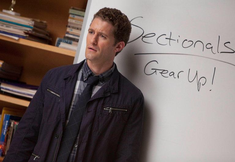 Matthew Morrison as Mr. Schuester on Glee