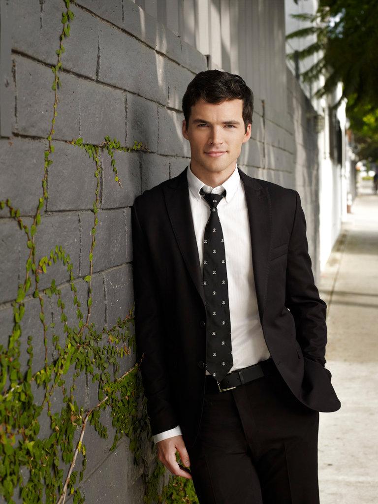 Ian Harding as Mr. Ezra Fitz on Pretty Little Liars