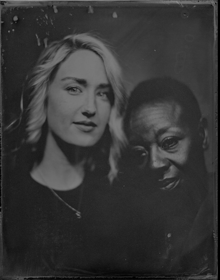 Ashley Johnson and Marianne Jean-Baptiste