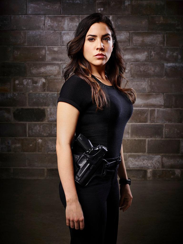 Audrey Esparza Is FBI Agent Tasha Zapata