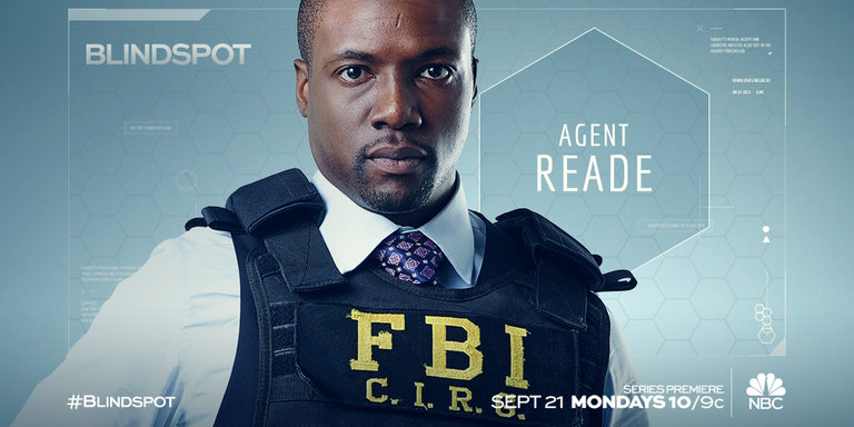 Rob Brown Is Agent Edgar Reade