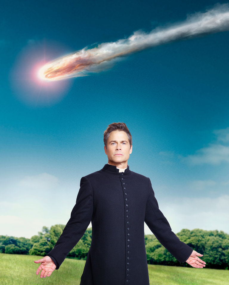 Rob Lowe Is Father Jude Sutton