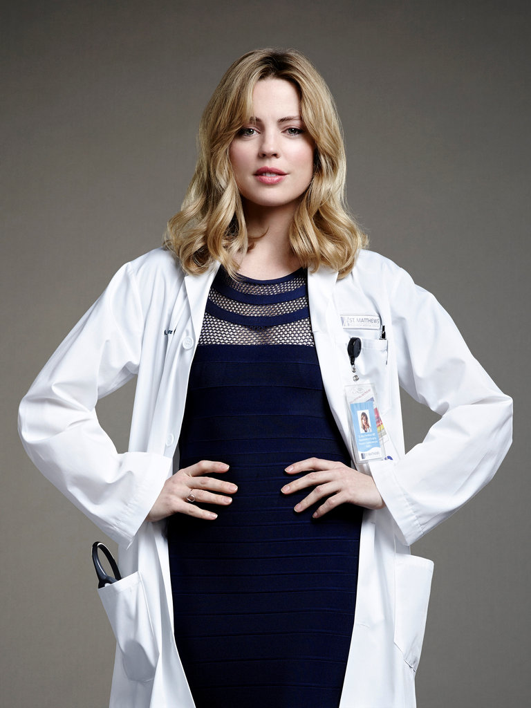 Melissa George Is Dr. Alexandra Panttiere