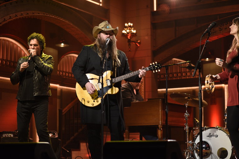 From the Set: Adam Driver and Chris Stapleton
