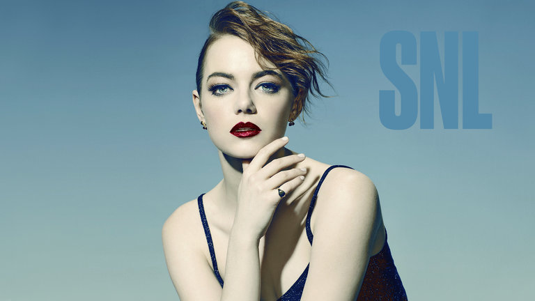 Emma Stone and Shawn Mendes Bumper Photos