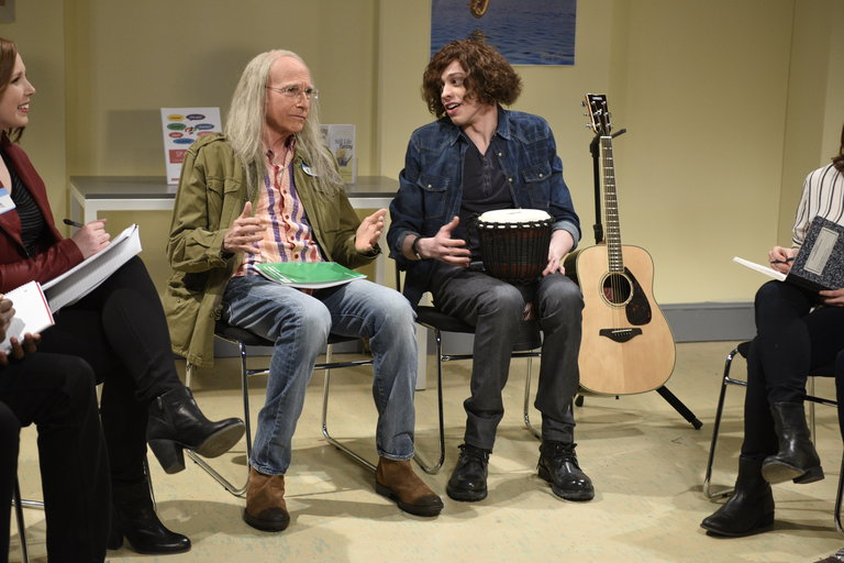 From the Set: Larry David and the 1975