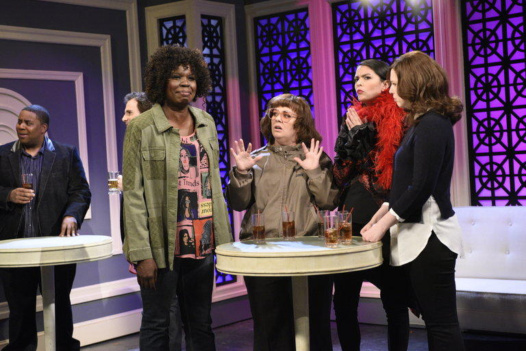 From the Set: Melissa McCarthy and Kanye West