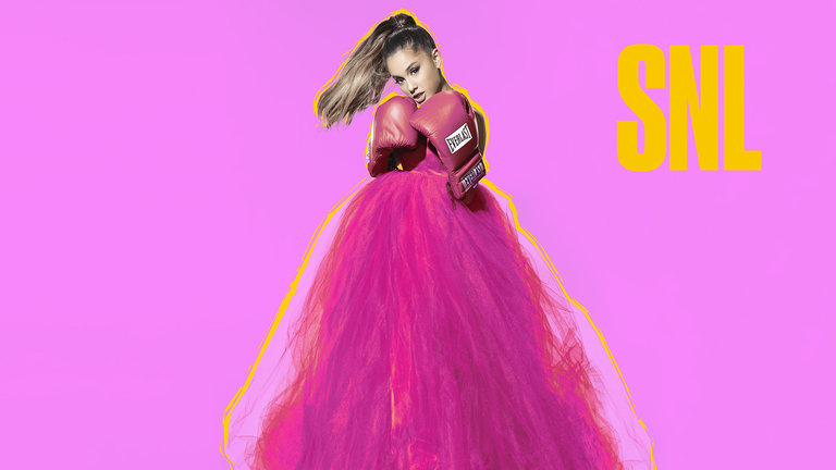 Ariana Grande Bumper Photos