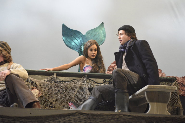 From the Set: Ariana Grande