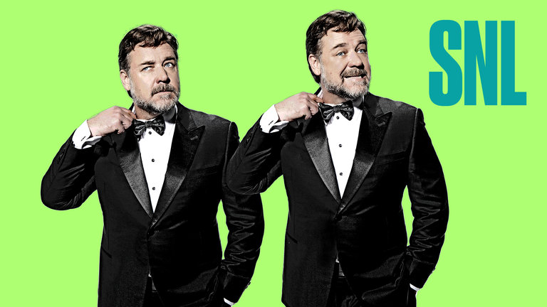 Russell Crowe and Margo Price Bumper Photos