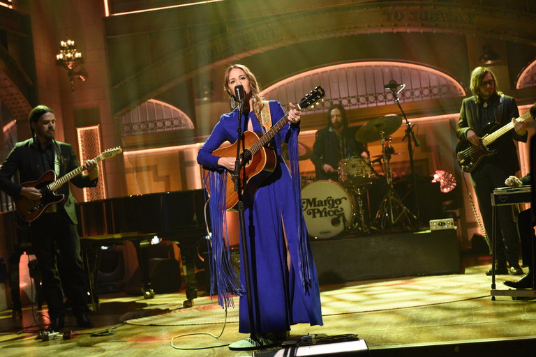 From the Set: Russell Crowe and Margo Price