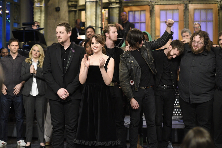 From the Set: Felicity Jones and Sturgill Simpson