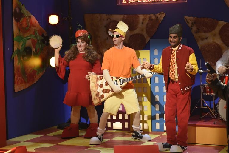 From the Set: Aziz Ansari and Big Sean