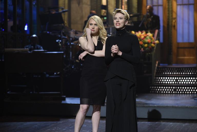 Set Photos: Scarlett Johansson and Lorde
