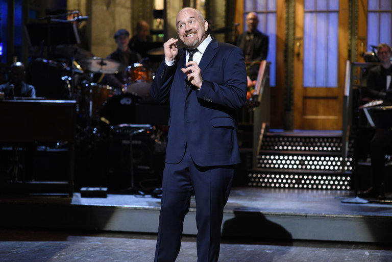 From the Set: Louis C.K. and The Chainsmokers