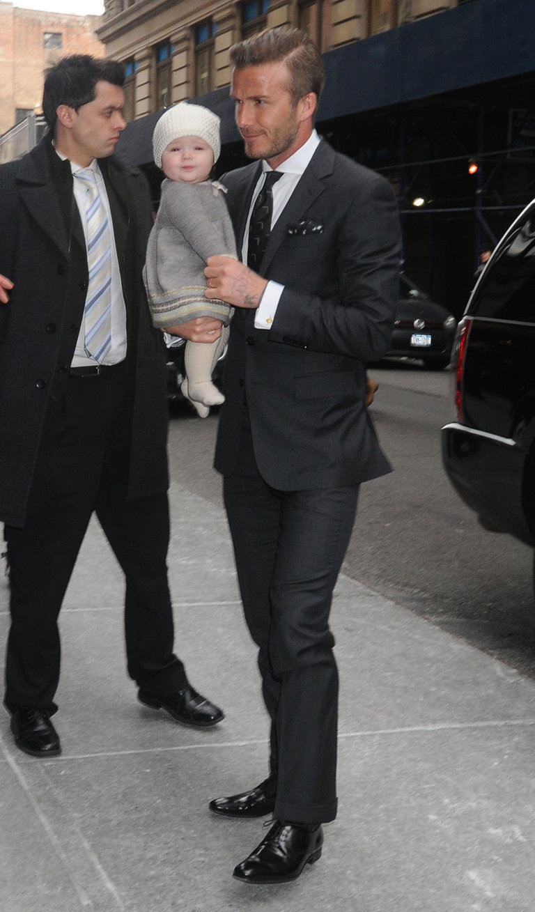 Celebrity Sightings In New York City - February 12, 2012