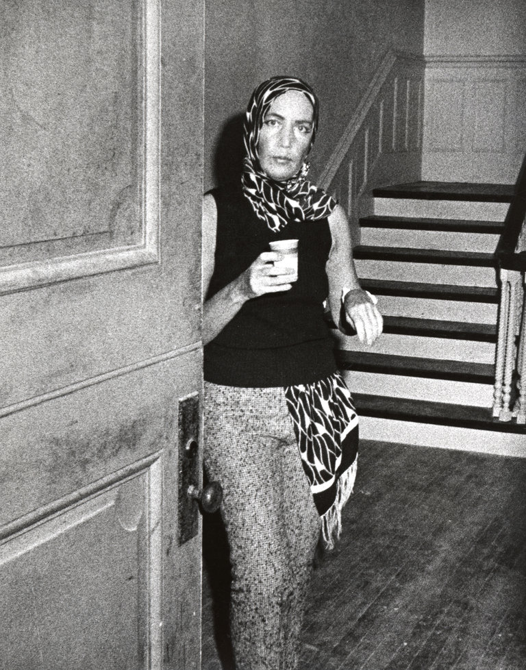 Edith Bouvier Beale at Grey Gardens in East Hampton, New York - September 1, 1972