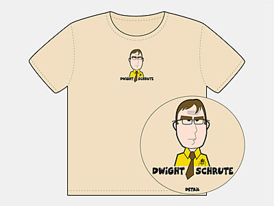 Dwight Cartoon