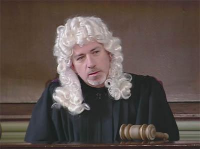 Alan as judge