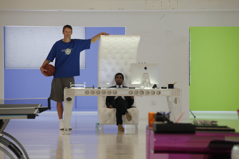 Detlef Schrempf's been visiting the E720 building, y'all! Check him out!