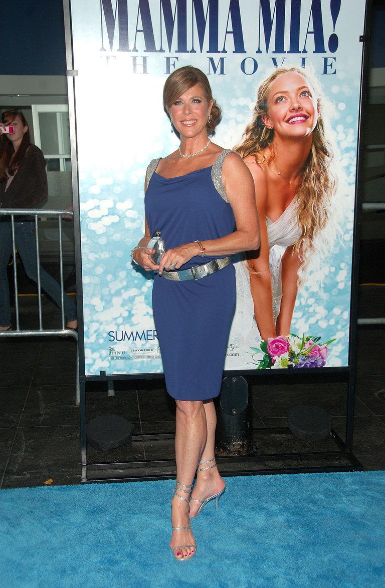 """""""Mamma Mia!"""" New York Premiere - Inside Arrivals"""