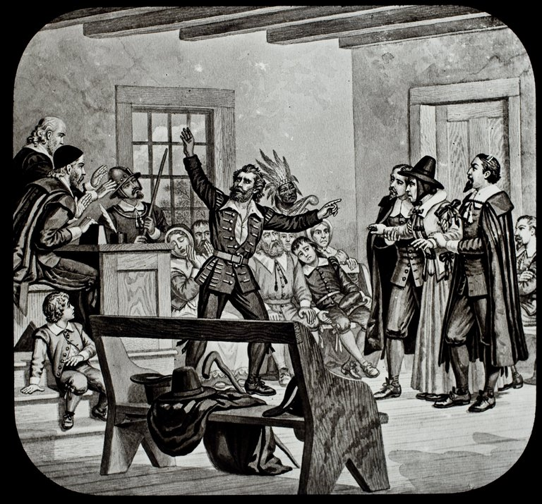 Witchcraft Trial in New England