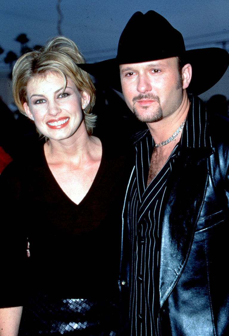Tim McGraw and Faith Hill at the Country Music Awards