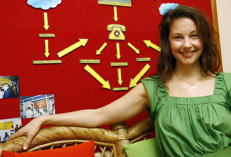 US actress Ashley Judd board member of P