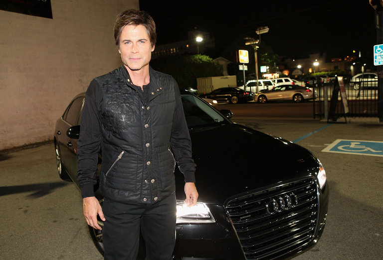 "Audi Arrivals At ""I Melt With You"" - AFI FEST 2011 Presented By Audi"