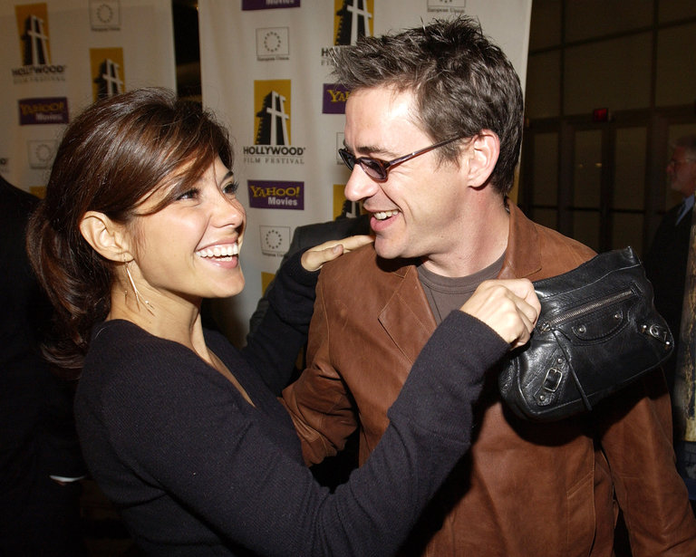 Robert Downey Jr. and Marisa Tomei