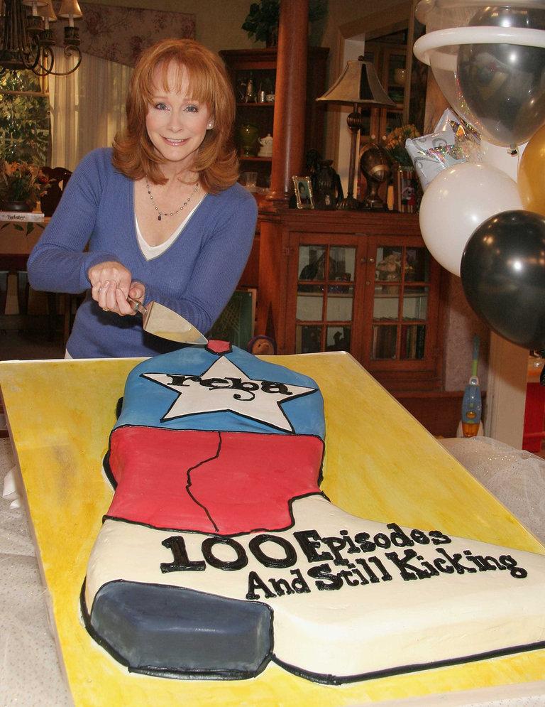 100th Episode Celebration for 'Reba'